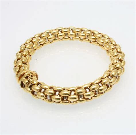 18 Carat Gold Bracelet From Organza by 18 Carat Gold Bracelet By Fope Furr Co