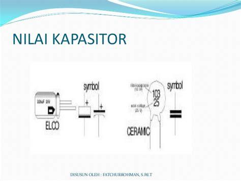 kapasitor nilai 2 kapasitor