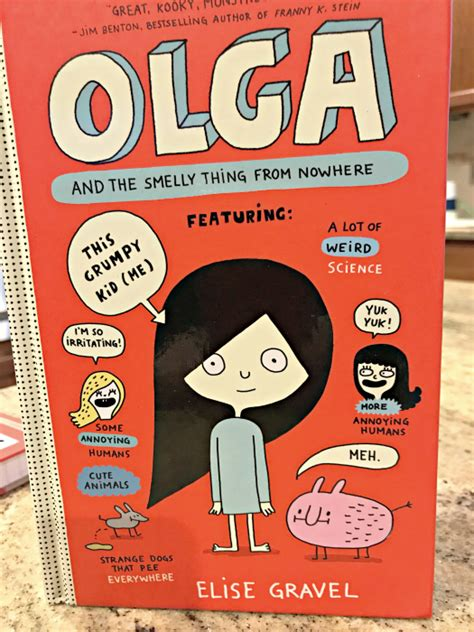 olga books olga and the smelly thing from nowhere and stick cat a