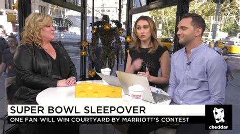 Courtyard By Marriott Nfl Sweepstakes - how you can wake up on the field at super bowl lii haystack tv