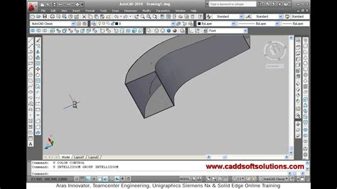 tutorial autocad commands autocad 3d modeling basic tutorial video for beginner 3