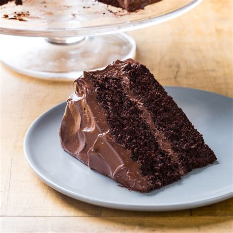 Test Kitchen The Internets Most Chocolate Cake by Chocolate Layer Cake With Chocolate Frosting Cook S Country