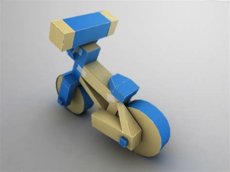 How To Make A Paper Motorbike - origami bike by martin8910 on deviantart