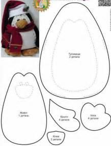 pattern felt penguin felt penguin pattern craft ideas pinterest