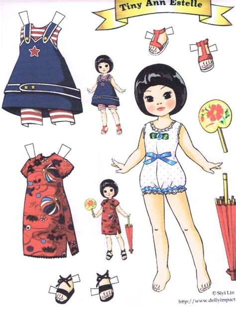 paper dolls craft 17 best images about paper dolls liana siyi on