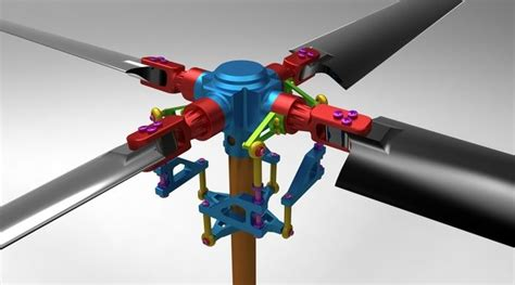 how to draw a boat propeller in solidworks rc helicopter rotor assembly step iges solidworks