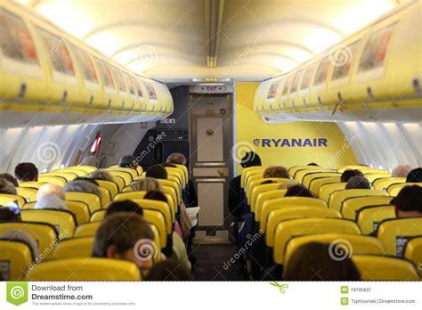 siege avion ryanair 192 l int 233 rieur de de l avion de ryanair photographie