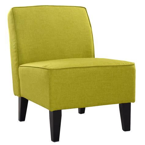 Armless Living Room Chairs by Deco Accent Chair Solid Armless Living Room Bedroom Office
