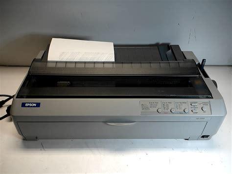 Printer Epson Lq 2090 epson lq 2090 dot matrix printer p364u