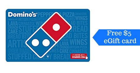 Groupon Dominos Gift Card - free 5 domino s gift card southern savers