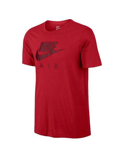 Tshirt Air nike herren t shirt air rot s