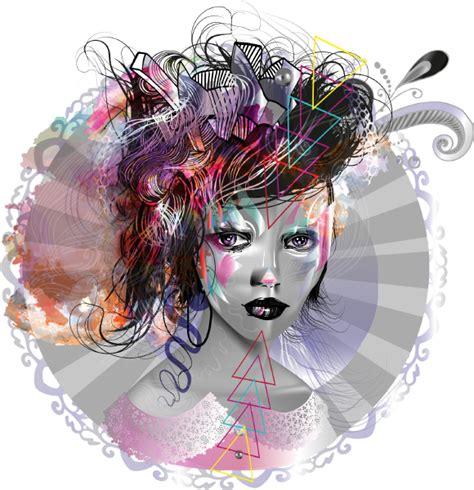 adobe illustrator cs6 recolor artwork portrait illustration on wacom gallery