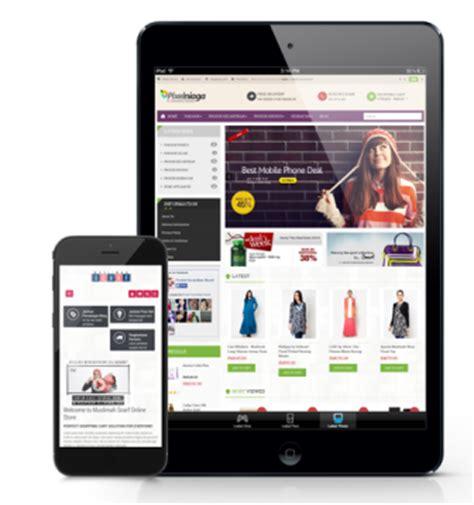 jasa membuat website toko online jasa bikin toko online murah responsive garansi seo friendly