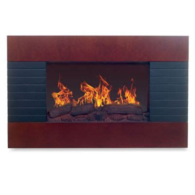 Where To Buy An Electric Fireplace by Buy Mahogany Electric Fireplace From Bed Bath Beyond