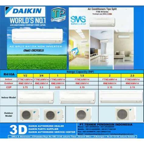 Ac Daikin 2 5pk Ftne60mv14 jual ac split daikin non inverter 2 5pk type stne60jev