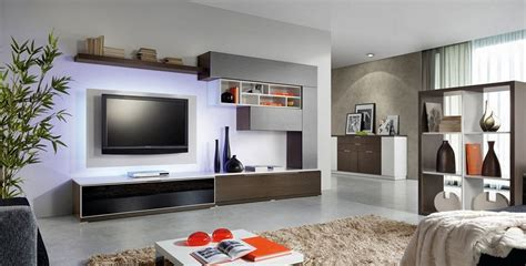 built in wall units decorating the entertainment corner with built in wall