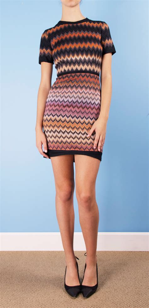 Dress Zigzag Ab missoni missoni missoni simple dresses