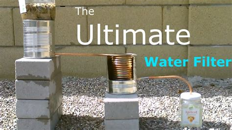 the ultimate diy water filter uses no electricity works