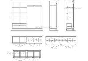 wardrobe details dwg free cad blocks