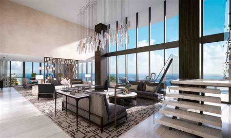 luxury penthouse quot regalia quot oceanfront miami skyscraper penthouse dazzles