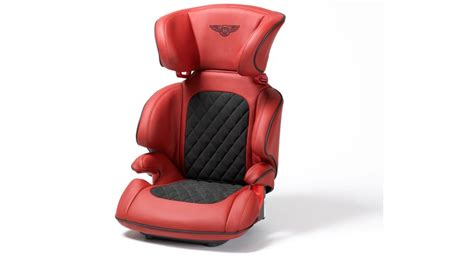 designer car seats for toddlers bentley s posh leather child seat by car magazine