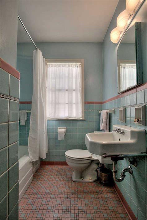 old bathroom 1949 time capsule house filled with original charm retro