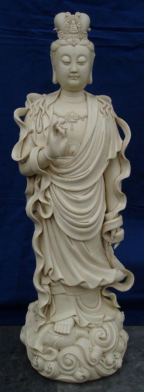 Teh Guan Yin paying homage to kuan yin the buddha of compassion