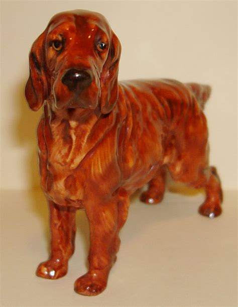 irish setter dog figurine royal doulton irish setter ch pat o moy dog figurine