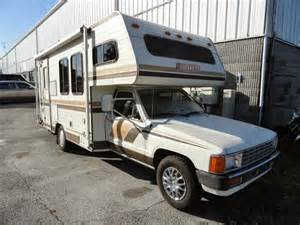 Toyota Rvs Used Rvs 1986 Toyota Huntsman Rv For Sale By Owner