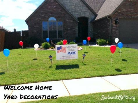 welcome home military decorations 25 best ideas about custom yard signs on pinterest