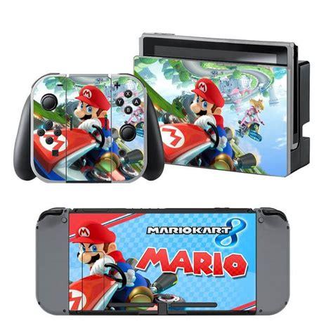 Kaset Nintendo Switch Mario Kart 8 quot mario kart 8 quot nintendo switch skin consolestickers nl