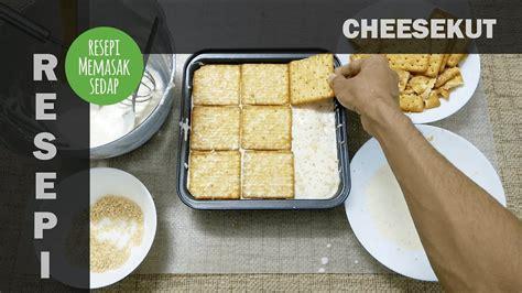 Biskut Cheese resepi cheesekut original kek biskut cheese