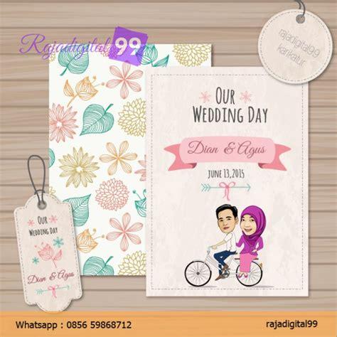 download desain undangan pernikahan vintage rajadigital99 undangan pernikahan