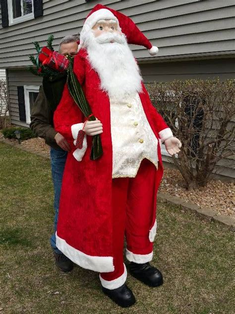 woah 6 foot tall santa claus eden prairie moving sale