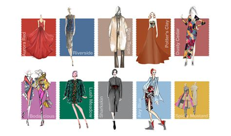 Modefarbe Herbst 2016 trendfarben f 252 r herbst 2016