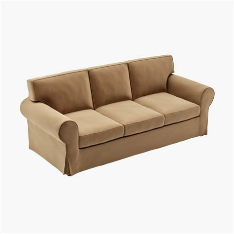 ikea ektorp three seat sofa ektorp 3d models