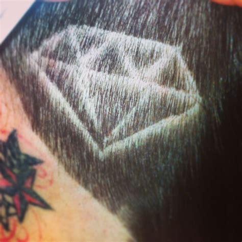 diamond hair tattoo my hair shaved head design diamond hairferry hair
