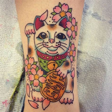 lucky cat tattoo 25 best ideas about lucky cat on yin
