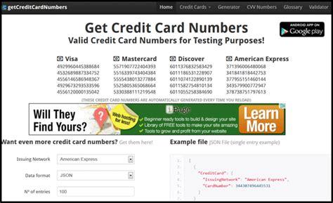 get free credit card numbers in pakistan ask ahmad bilal