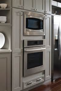 Cabinet Microwave Reviews Oven And Microwave Cabinet Homecrest Cabinetry