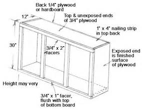 How To Build Kitchen Cabinets Free Plans by 187 Download Plans For Cabinet Building Pdf Plans Folding