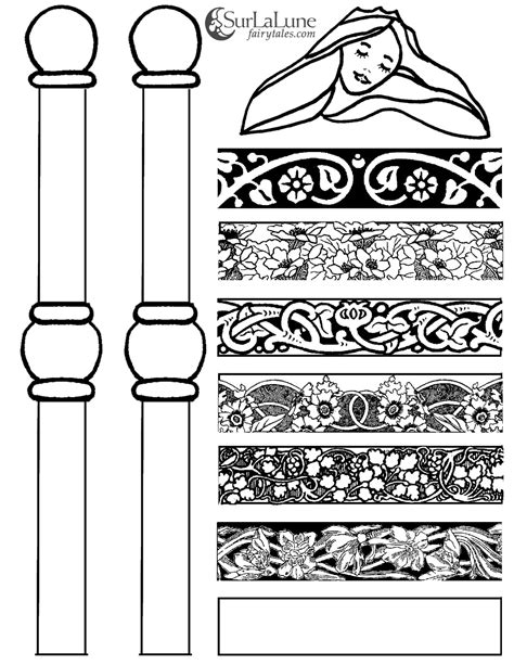 Surlalune Fairy Tales Blog Princess And The Pea Craft Princess And The Pea Coloring Page Free Coloring Sheets