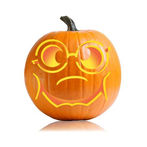 nerdy jackolantern pumpkin stencil ultimate pumpkin stencil