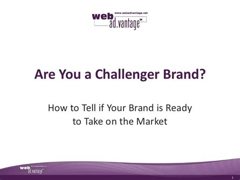 brand challenger are you a challenger brand