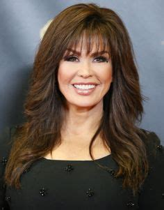 marie osmond hairstyles feathered layers 1000 images about hair on pinterest feathered