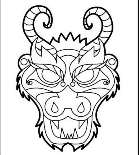 coloring page chinese dragon chinese dragon boat festival coloring pages family
