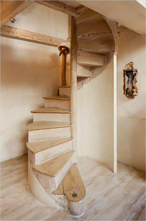kleine wendeltreppe treppenstufen holz fur ausen bvrao