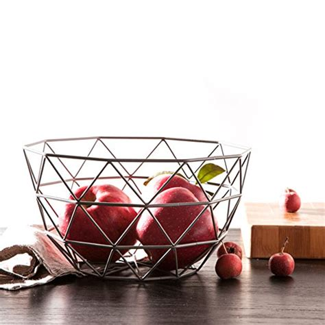 Countertop Fruit Basket by Superb2c Silver Fruit Basket Countertop Fruit Vegetable