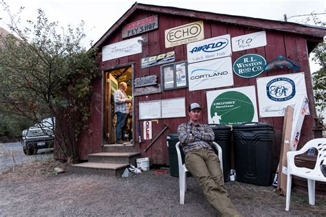 Shed Fly Shop by Shed Spey Gathering