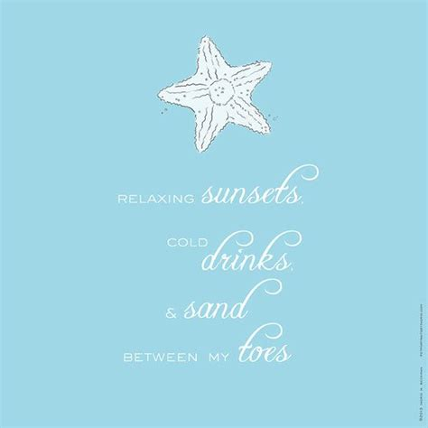 shabby chic beach quote star fish and sea shells on